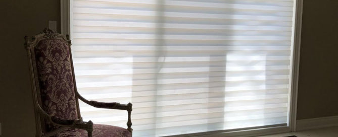 Picture of zebra blinds
